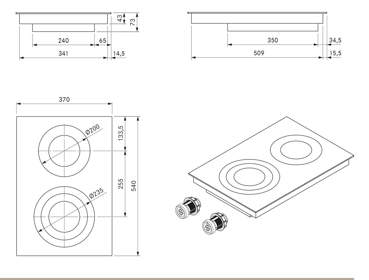pkc32 hilight glaskeramik kochfeld dunstabzug center berlin autorisierter bora miele. Black Bedroom Furniture Sets. Home Design Ideas